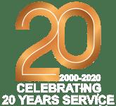 20 years-white