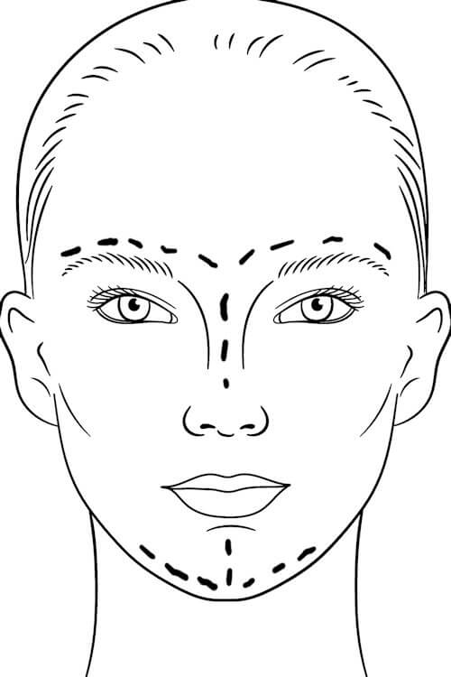 face sketch annotate